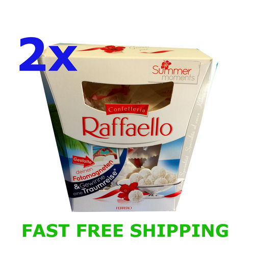 2x Ferrero Raffaello Almond Cocunut Treat 230 g / 8.1 oz - 23 pieces