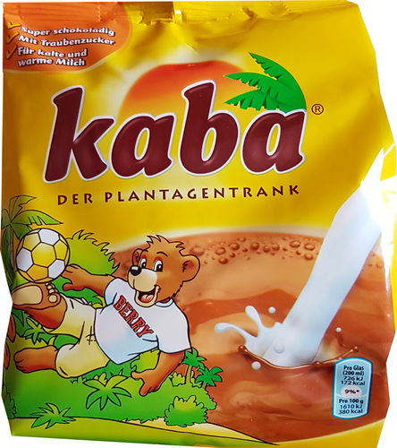 Kaba - cocoa powder instant drink 500 g / 17.1 oz from Germany