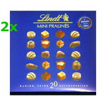 2x Lindt Mini Pralines -20 pieces 100g / 3.52oz each limited offer